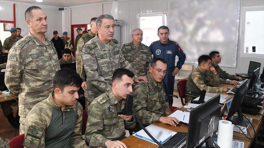 Genelkurmay Başkanı Akar Suriye sınırında 1