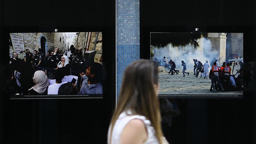 Filistinli foto muhabirlerinin gözünden 'Kudüs ve Mescid-i Aksa&#03 1