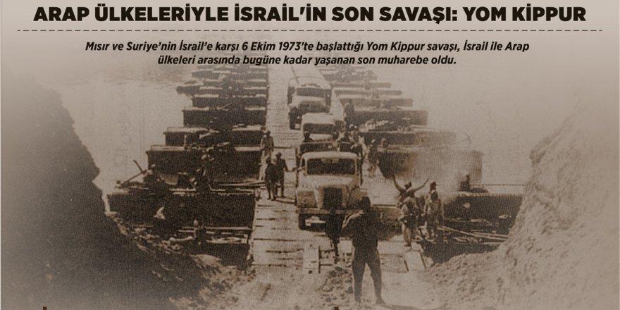 Arap ülkeleriyle İsrail'in son savaşı: Yom Kippur