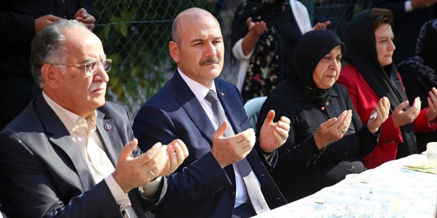 İçişleri Bakanı Süleyman Soylu, Adana'da