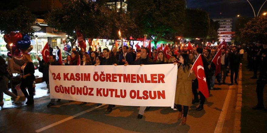 Adana'da 24 Kasım Öğretmenler Günü etkinlikleri