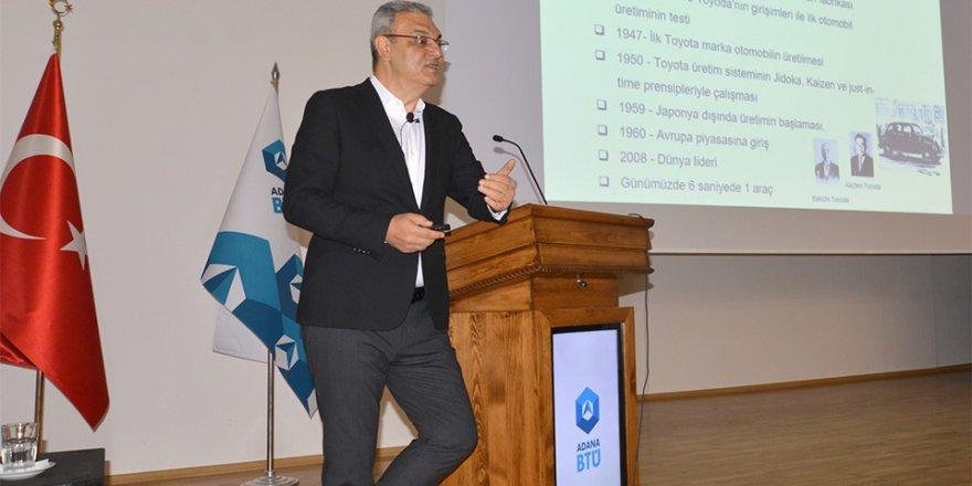 Toyota CEO'su Adanalı Ali Haydar Bozkurt Adana BTÜ'de
