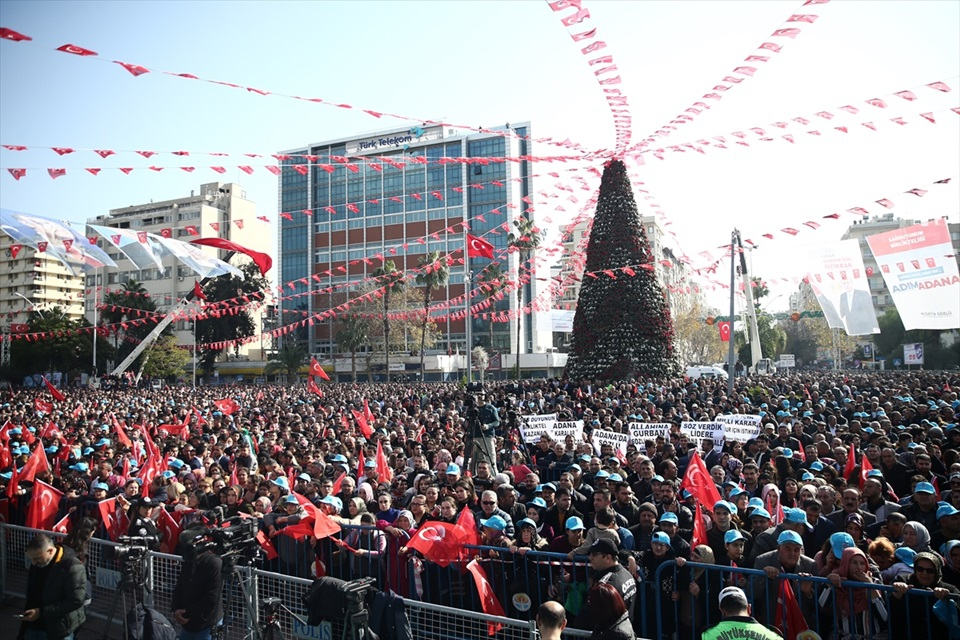 Cumhur İttifakı'nın Adana belediye başkan adayları tanıtıldı 13