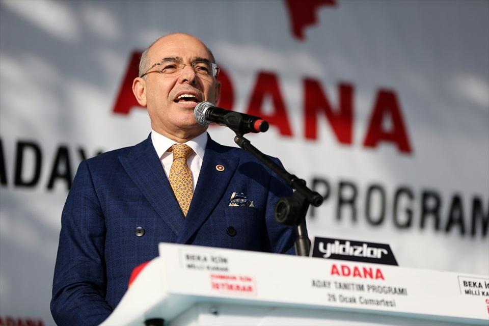 Cumhur İttifakı'nın Adana belediye başkan adayları tanıtıldı 7