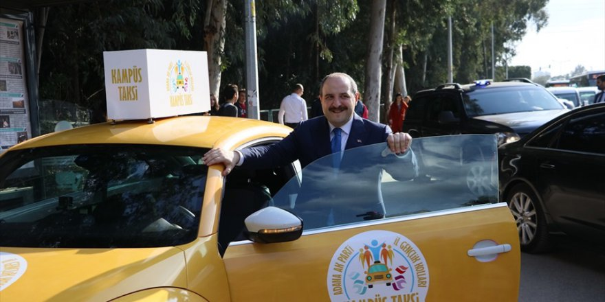 Sanayi ve Teknoloji Bakanı Mustafa Varank Adana'da