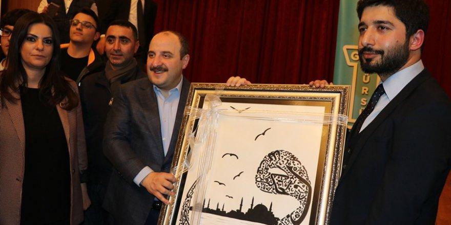 """Bakan Varank Adana'da""""Genç Kürsü"""" etkinliğinde gençlerle"""