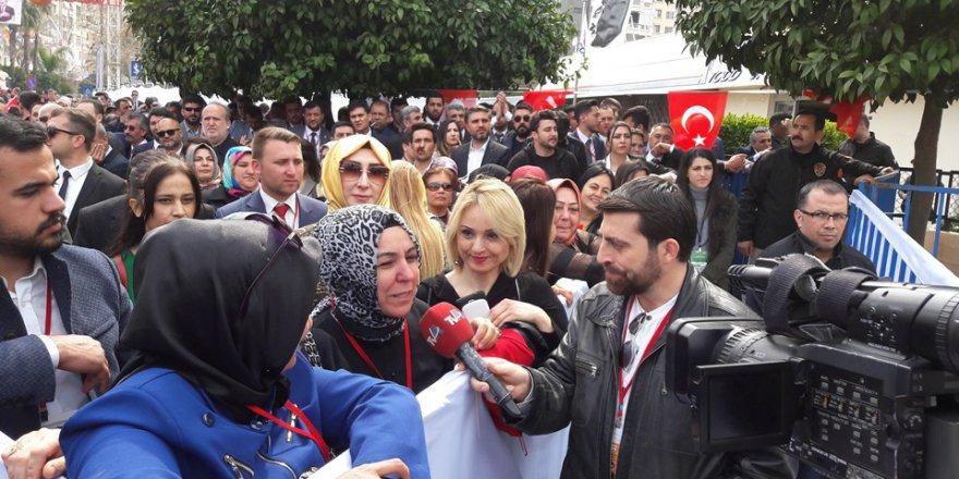 AK Parti Adana mitinginden..