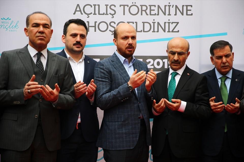 Bilal Erdoğan Adana'da 1