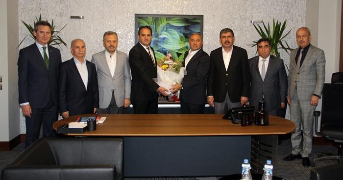 SGK Adana İl Müdürlüğünden AOSB'ye Ziyaret