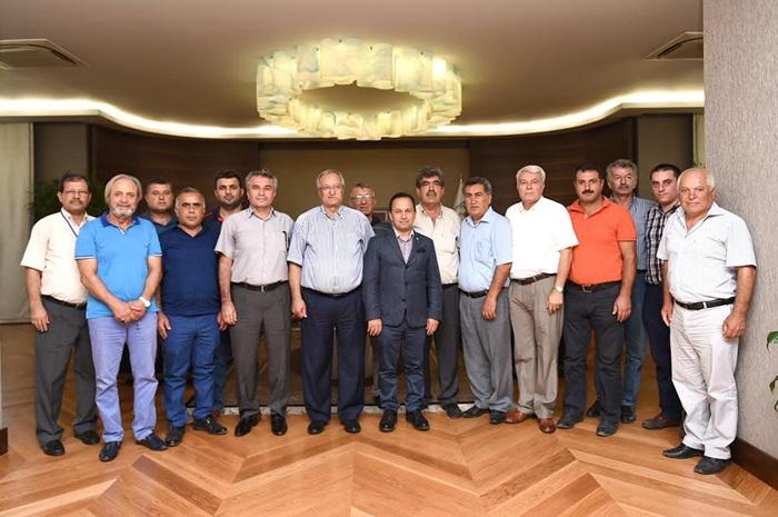 Adana ASKF Başkan ve yönetiminden Başkan Uludağ'a teşekkür ziyareti
