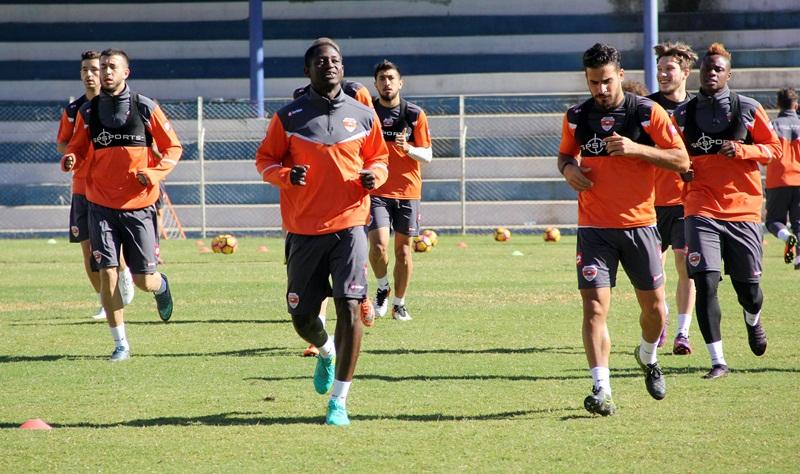 Adanaspor, Gaziantepspor maçı hazırlıklarına başladı