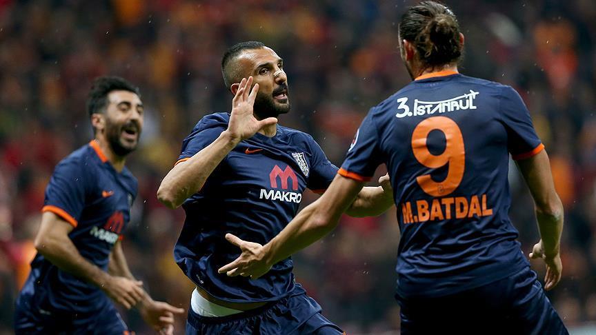 Medipol Başakşehir kupada Galatasaray'ı saf dışı bıraktı