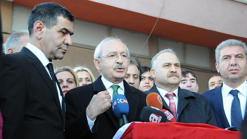Kılıçdaroğlu 'Milli Anayasa Hareketi' üyelerini kabul etti