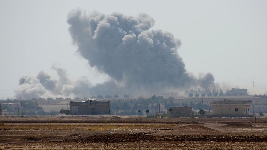 Fırat Kalkanı'nda 163 hedef vuruldu, 14 DEAŞ'lı terörist etkisiz hale getirildi