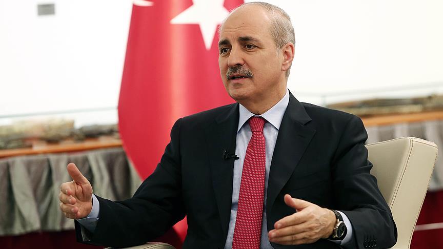 Başbakan Yardımcısı Kurtulmuş: Rejimin cumhuriyet olduğunu hatırlamalarını doğru buluruz