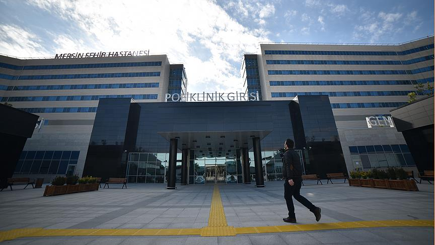 Mersin Şehir Hastanesi kapılarını açmak için gün sayıyor
