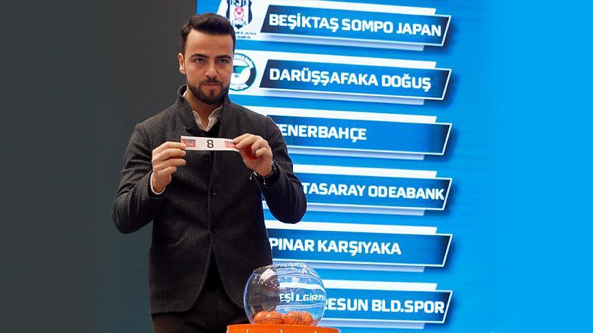 Basketbolda Türkiye Kupası eşleşmeleri belli oldu