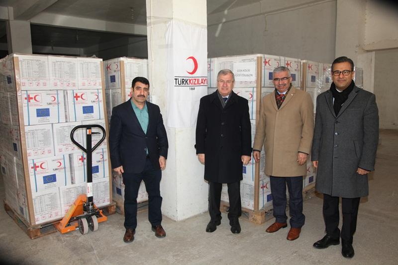 ATO'dan Halep'e gıda ve giyecek yardımı...