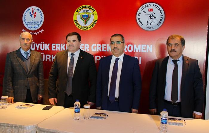 Türkiye Grekoromen Güreş Şampiyonası Adana'da yapılacak