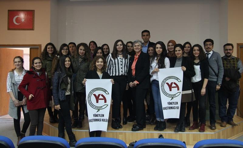 Çukurova Üniversitesi'nde Geleceğin Mühendisleri Bilgilendirildi.