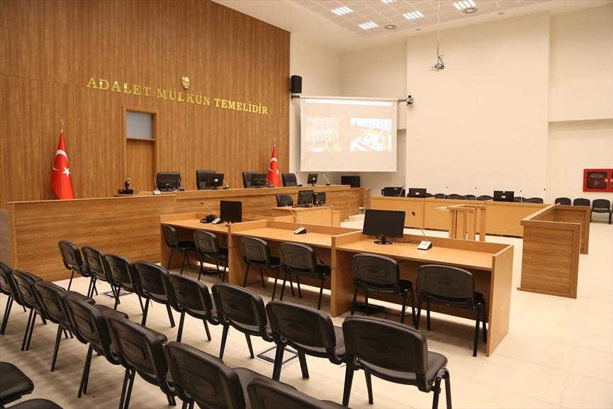 FETÖ mensuplarının yargılanacağı salon hazır