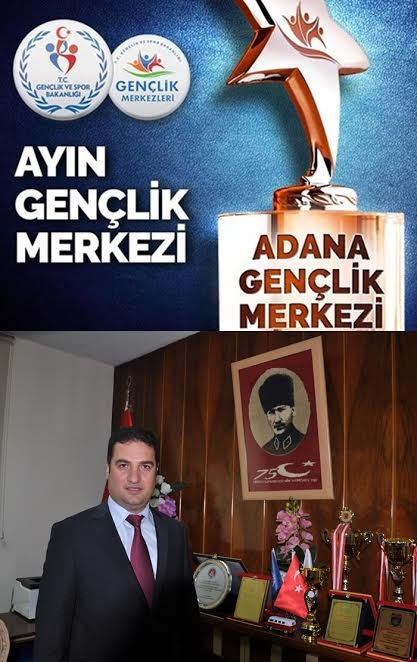 Adana Gençlik Merkezi Birinci Oldu