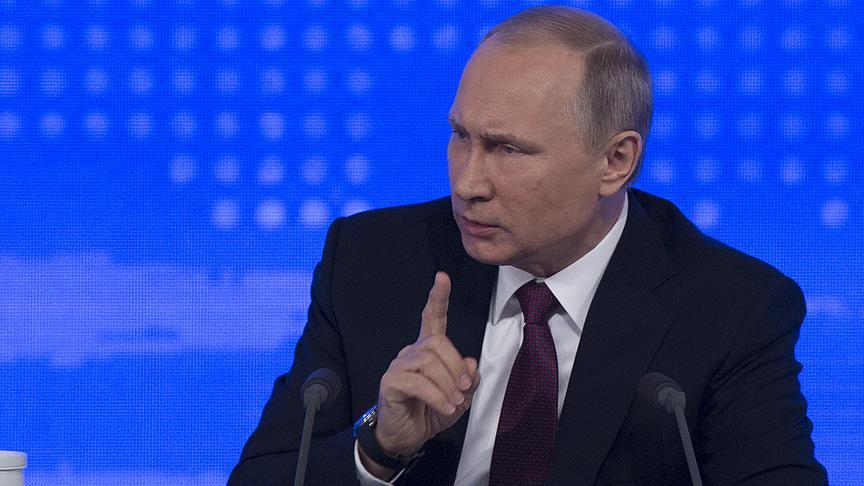 Putin düşürülen Rus uçağı için yine İsrail'i işaret etti