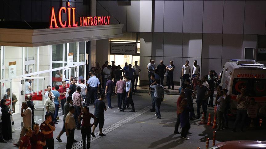 Ankara'da şehit olan polis hastalara zarar gelmemesi için silah kullanmamış