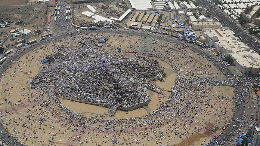 Hacı adayları yarın Arafat'a çıkacak
