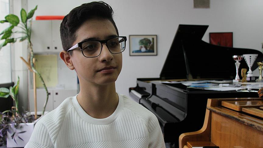 Üsküplü genç piyanistin Türkiye sevgisi