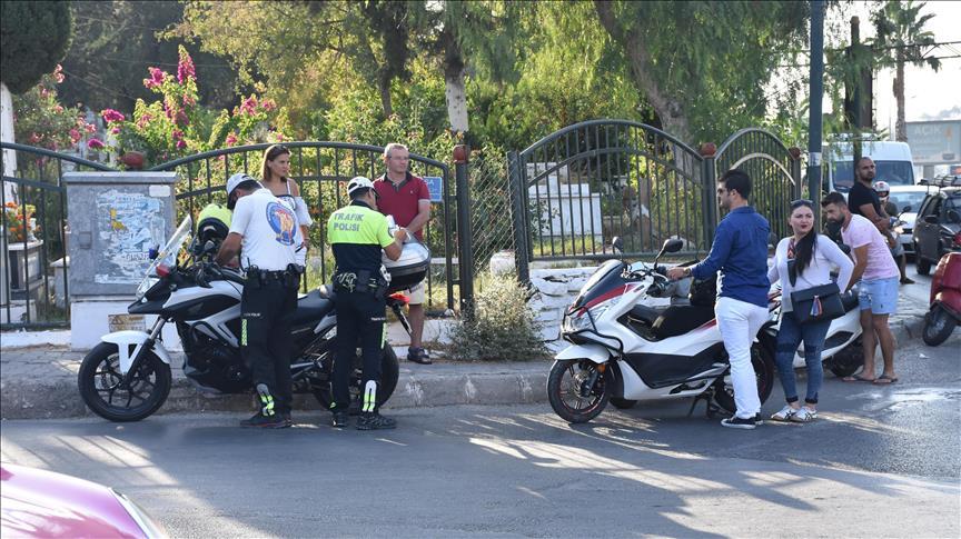 Polis ve Jandarmadan 81 ilde motosiklet uygulaması