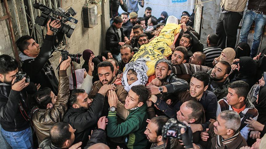 'ABD'nin Kudüs kararı sonrası 14 Filistinli şehit oldu'