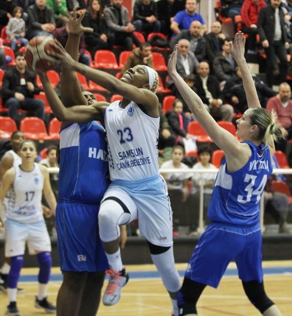 Hatay Büyükşehir Belediyespor: 62 - Dinamo Kursk: 87