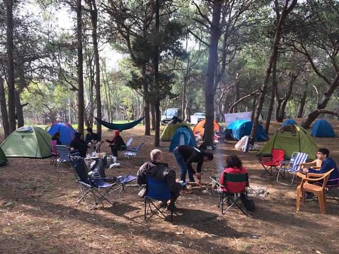 Karataş Çadır Kampı ve Fotoğraf Yarışması Etkinliği Sona Erdi .