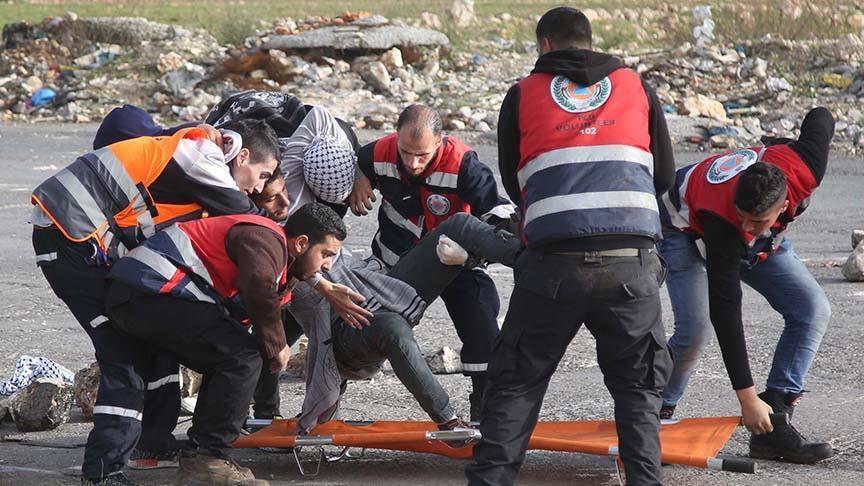 İsrail'in Batı Şeria ve Gazze'deki gösterilere müdahalesinde yaralı sayısı 67'ye yükseldi