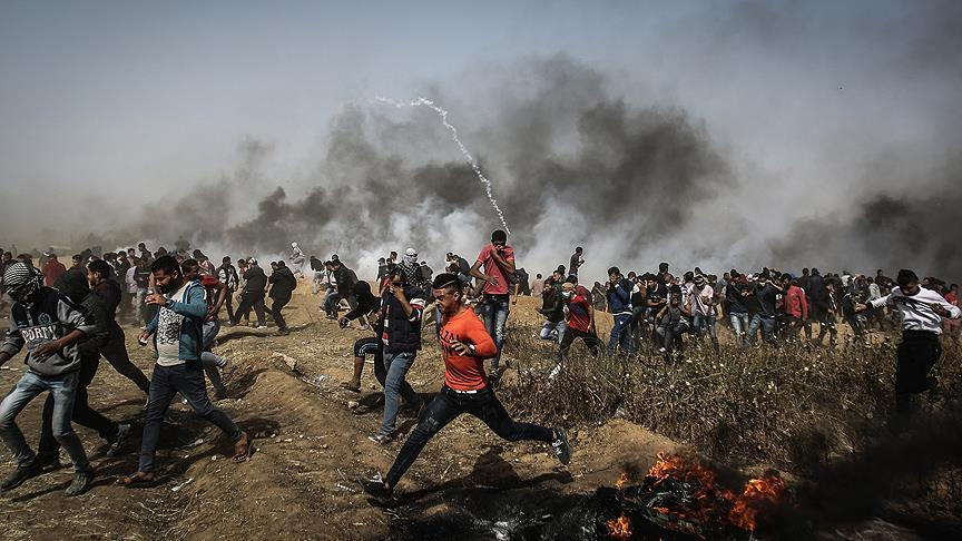 Gazze'deki Büyük Dönüş Yürüyüşü'nde sekizinci cuma
