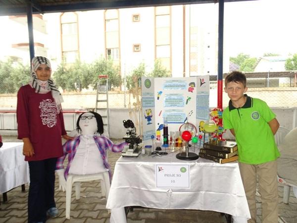 Ceyhan Arif-Hasan Bilici İmam Hatip Ortaokulu'ndan TÜBİTAK destekli bilim fuarı