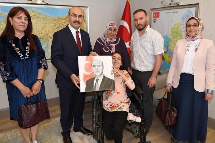 """Vali Demirtaş: """"Engellilerimizin korunması konusunda büyük hassasiyet gösteriyoruz"""""""