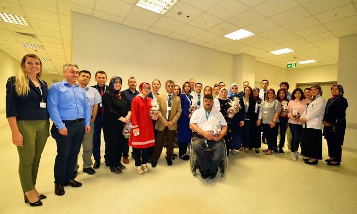 Adana Şehir Hastanesi'nde eczacılar buluştu