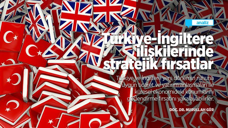 Türkiye-İngiltere ilişkilerinde stratejik fırsatlar