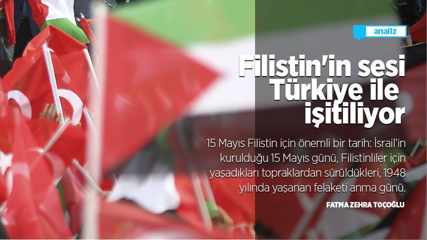 Filistin'in sesi Türkiye ile işitiliyor