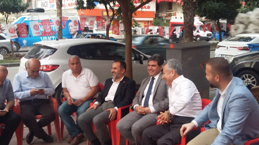 AK Partili Dağlı'dan MHP SİM'e ziyaret