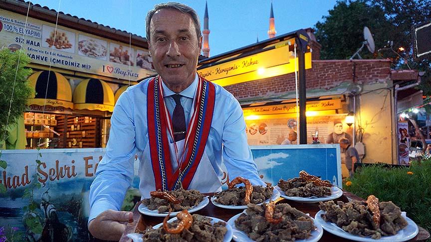 Ciğer, Edirne'de ramazanda da vazgeçilmez lezzet oldu