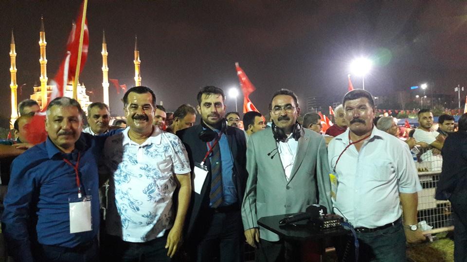 Adana'da 15 Temmuz Demokrasi ve Milli Birlik Günü