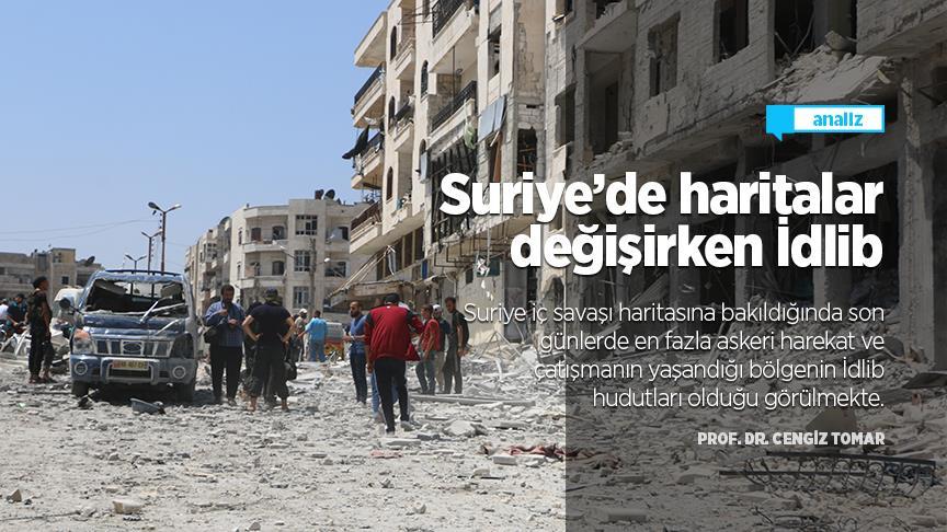 Suriye'de haritalar değişirken İdlib