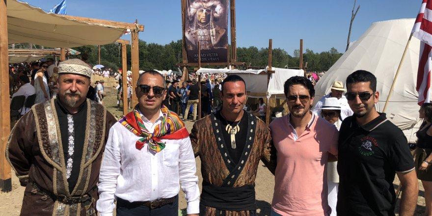 Macaristan'da Türk boyları buluştu