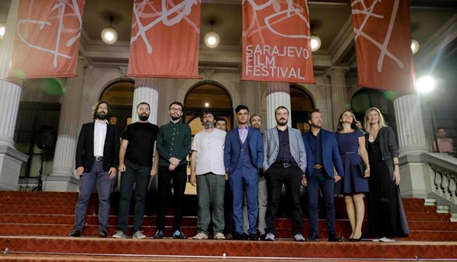 'Güvercin Hırsızları'nın dünya prömiyeri Saraybosna'da yapıldı