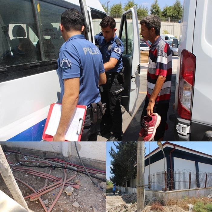 Adana'da trafodan kablo hırsızlığı iddiası