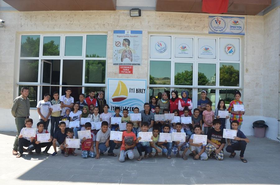 Şanlıurfa İpekyol Gençlik Merkezinde Yaz Okulu Projesi