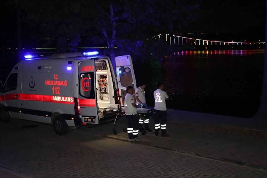 Adana'da nehre giren genç kayboldu